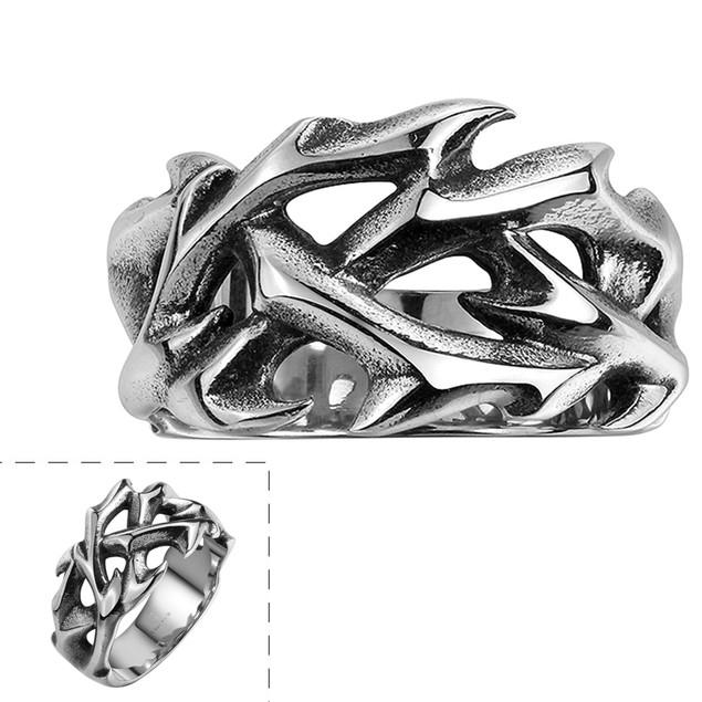 Sword's Blade Stainless Steel Ring
