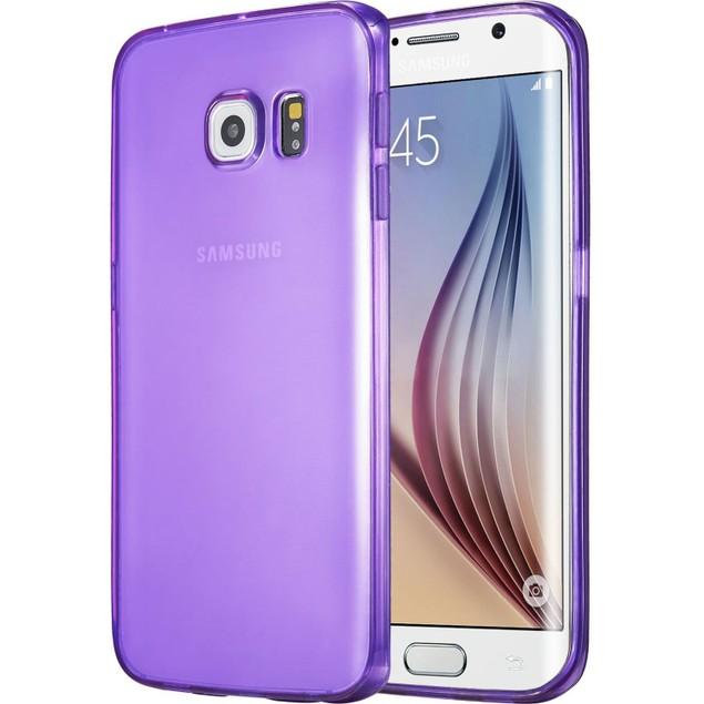 Laza Slim Jelly Series Premium Soft Flexible Slim-Fit TPU Translucent Case for Samsung Galaxy S6 Edge