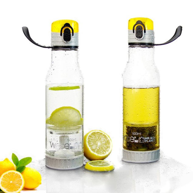 2-in-1 Fruit & Tea Sports Water Bottle Infuser