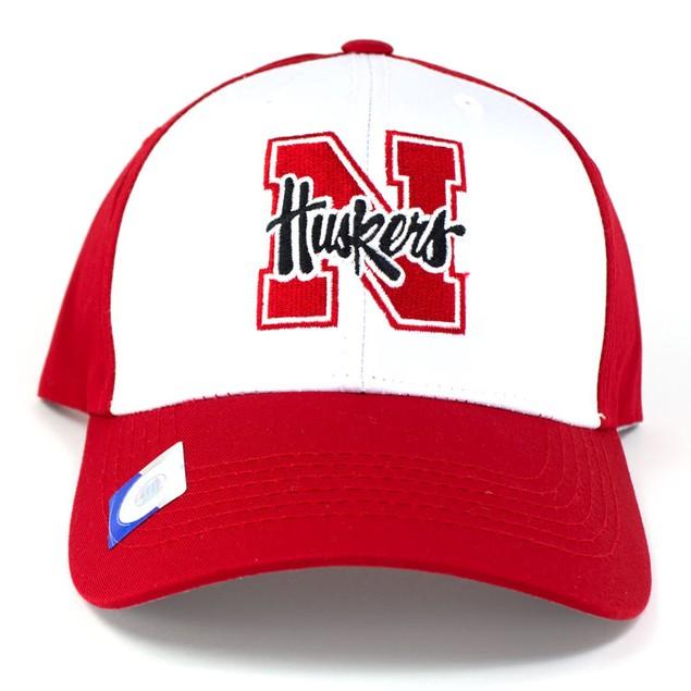 Nebraska Cornhuskers Adjustable Collegiate Cap