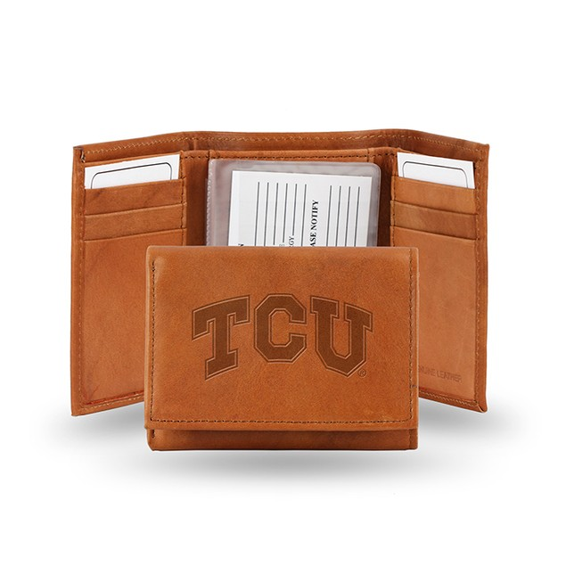 TCU Leather Manmade Trifold