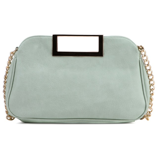 MKF Collection Bramble Rose Clutch with Link Chain - Color Options