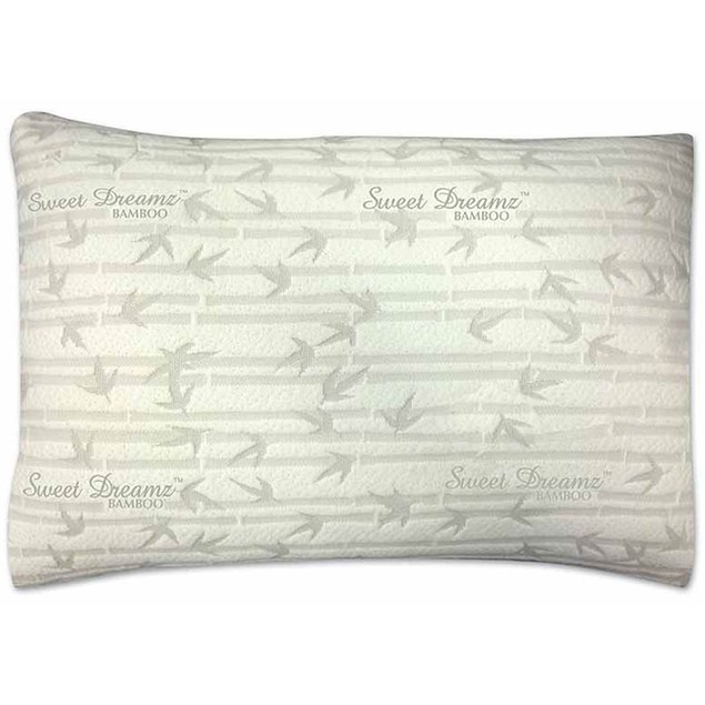 Luxury Bamboo Memory Foam Gel Pillow