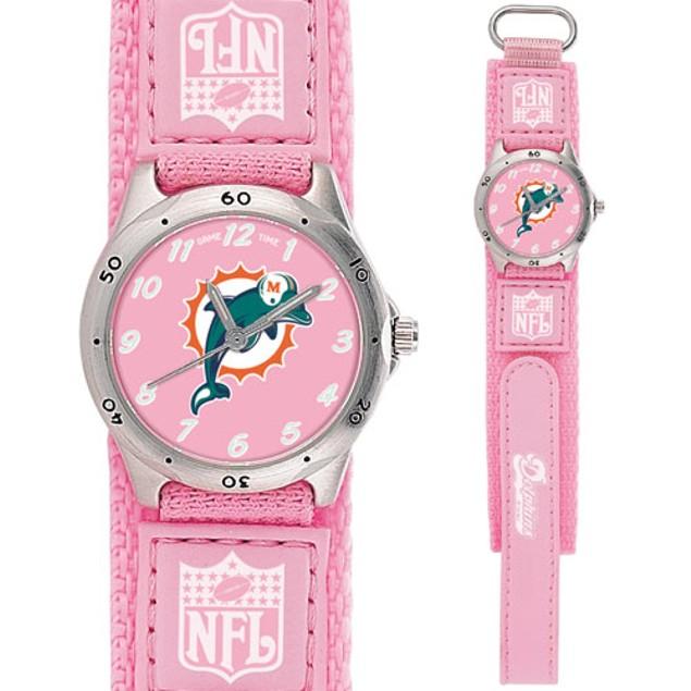 Miami Dolphins Girls NFL Watch