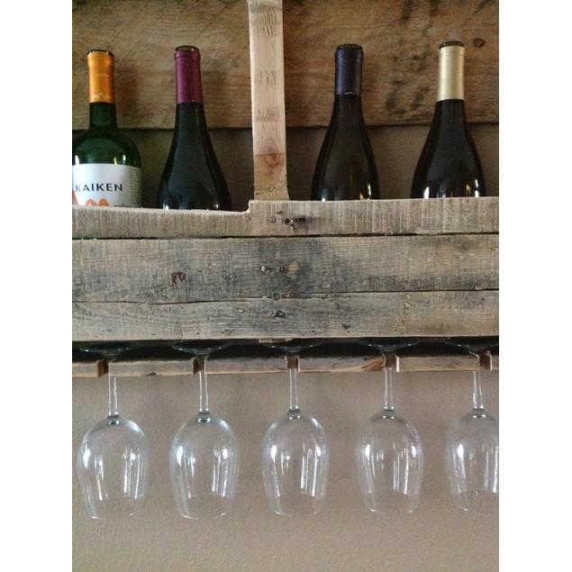 The Rustic Wine Rack