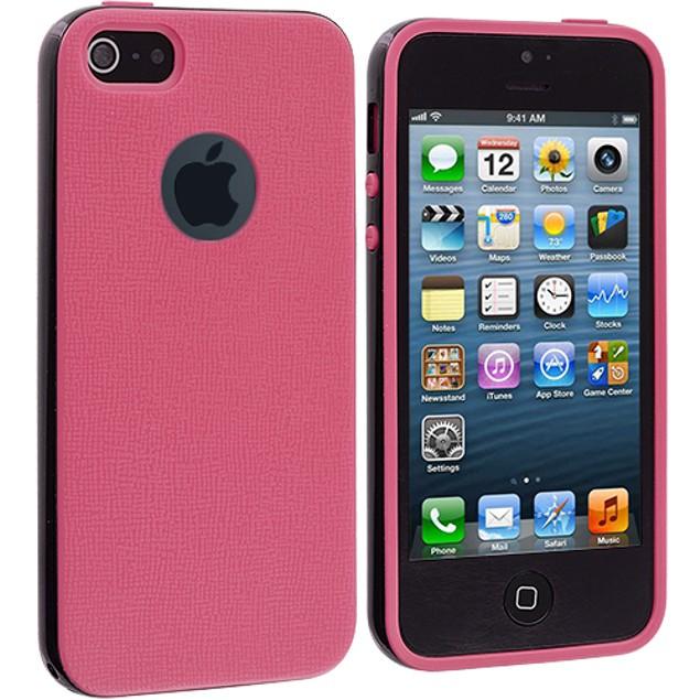 Apple iPhone 5 Hybrid TPU Bumper Case Cover