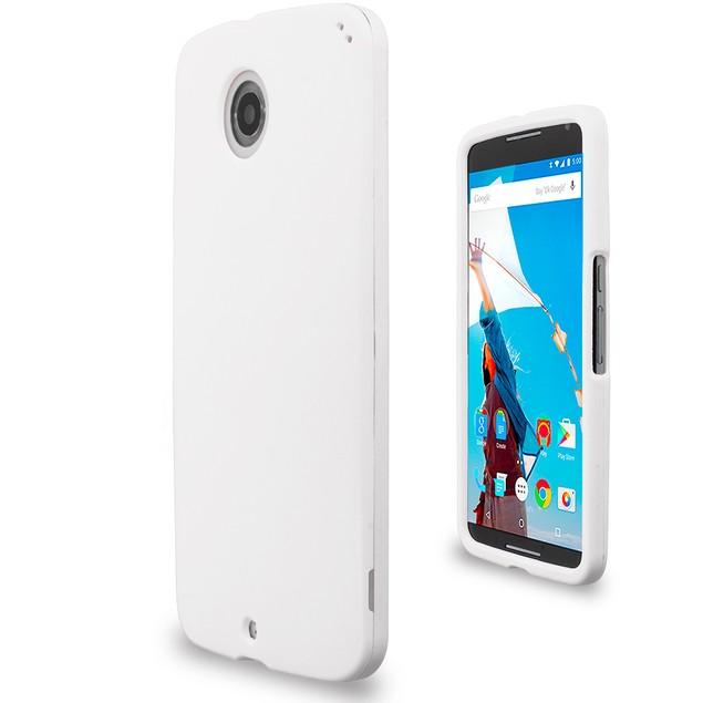 Motorola Google Nexus 6 Hard Rubberized Case Cover