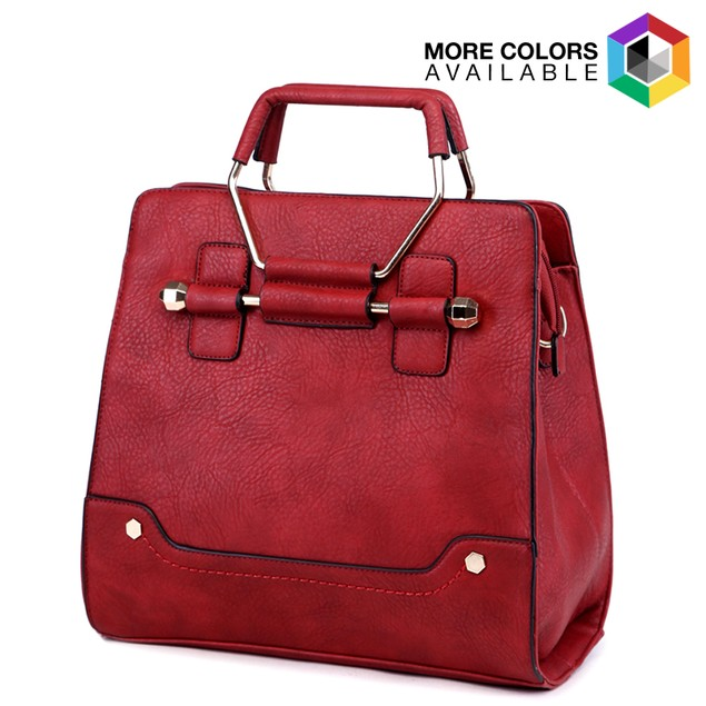 MKF Collection Vintage-Style Shoulder Bag