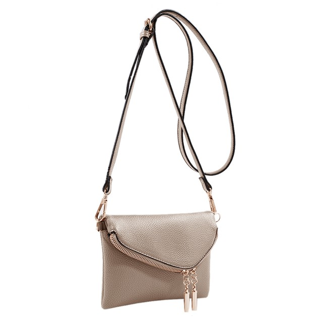 MKF Collection Celebrity Style Saddle Bag by Mia K. Farrow