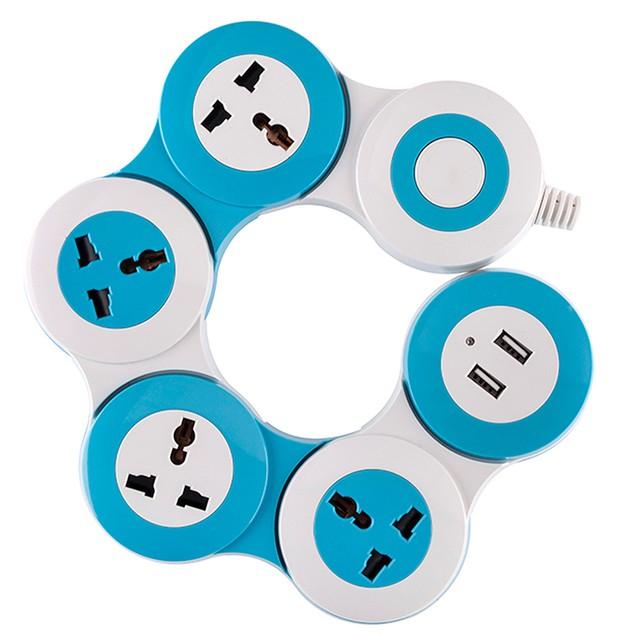 Flexible 6 Outlet Power Strip