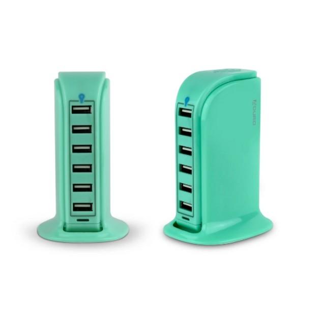 Aduro PowerUp 40-Watt 6-Port USB Charging Station