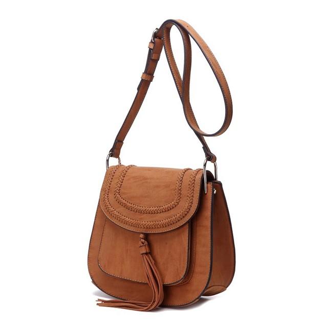 MKF Collection Penelope Saddle Bag - 6 Colors