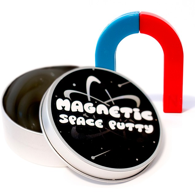 Magnetic Space Putty with Rare Earth Magnet