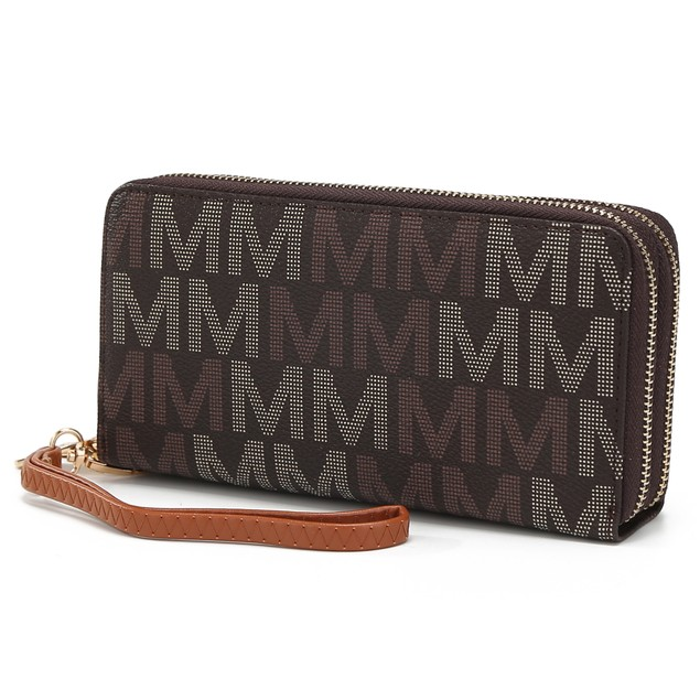 MKF Collection Hofstra M Signature Wristlet by Mia K.