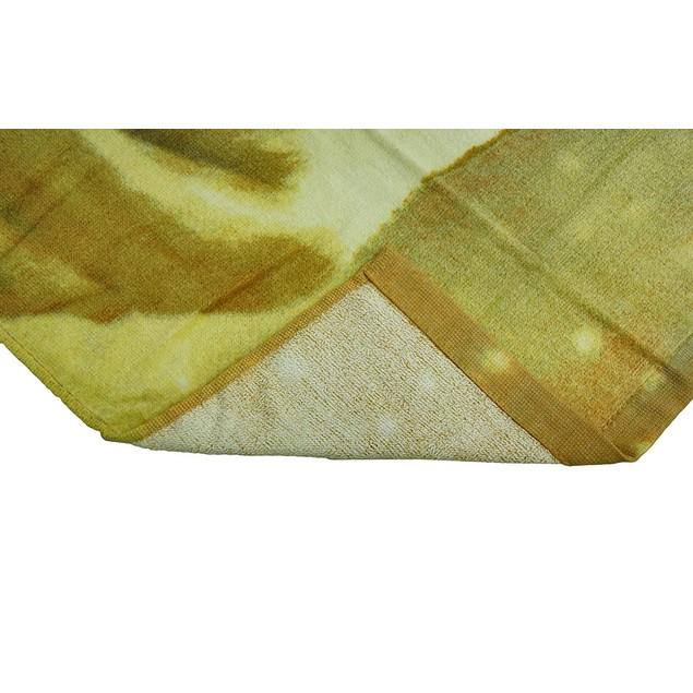 Golden Labrador Retreiver Dog Velour Beach Towel Beach Towels