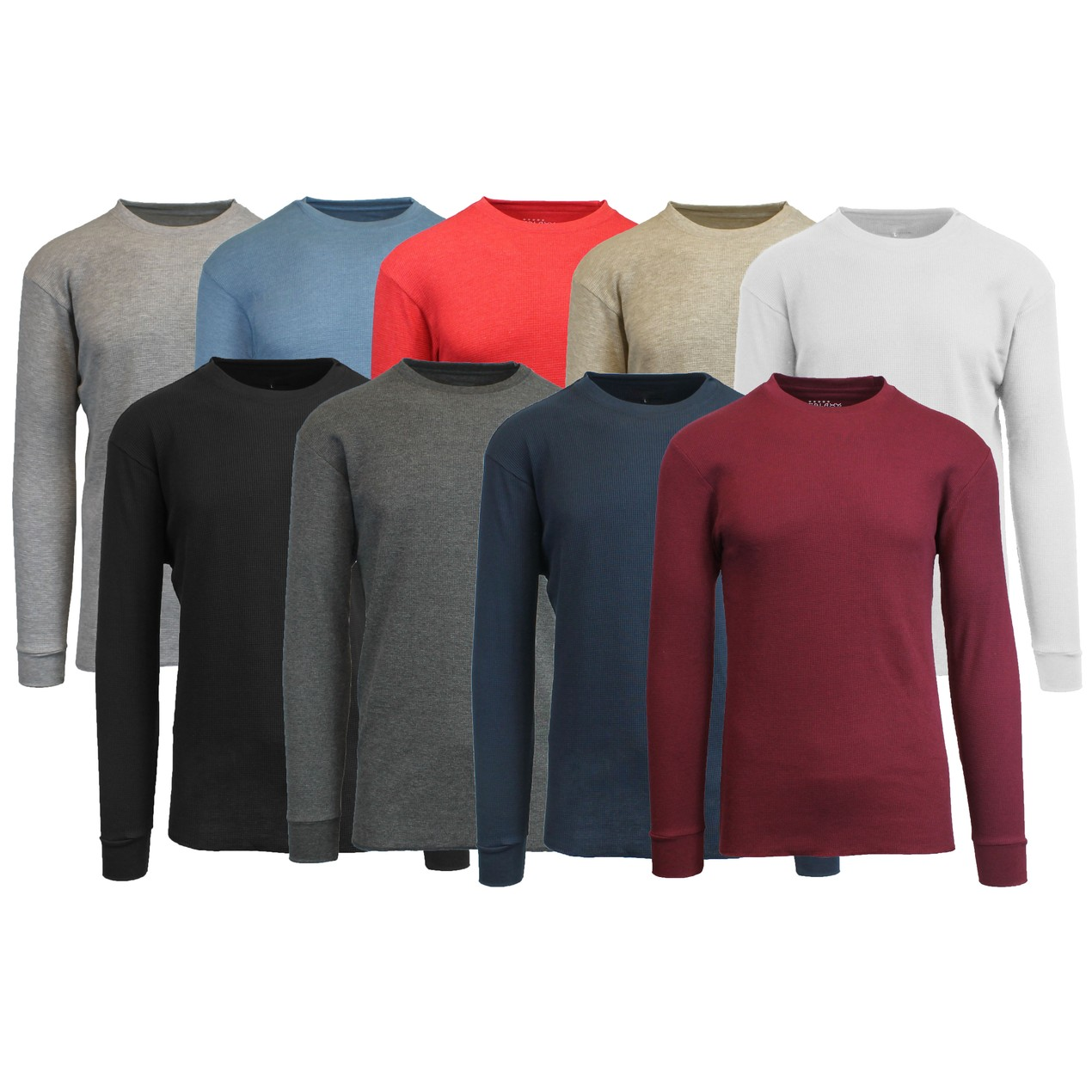 b985a06c CNTHERMALS Galaxy by Harvic Mens Crew Neck Thermal Shirt Multiple Sizes/ Colors