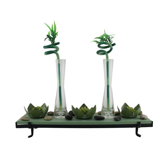 3 Lotus Flower Tealight Holder 2 Lucky Bamboo Candleholders