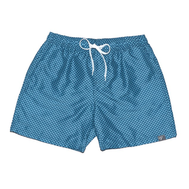 Navy Star Board Shorts