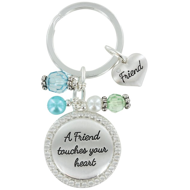 Bejeweled Inspirational Key Chain - 6 Styles