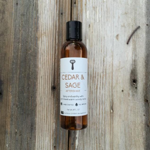 Cedar & Sage Aftershave