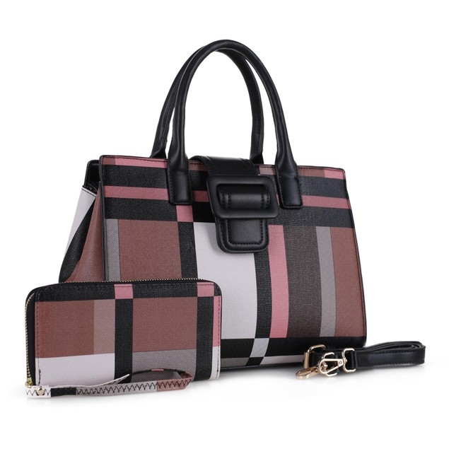 MKF Collection Safin Satchel Bag with Wallet by Mia K.