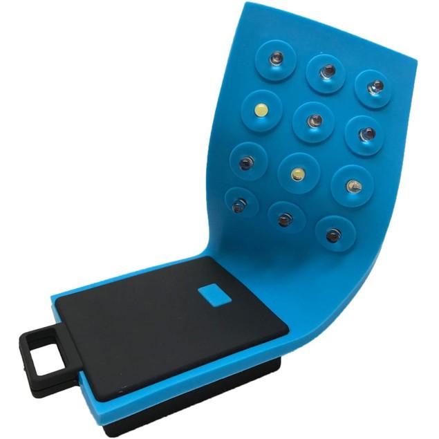 FlexiFlash Flexible Hands Free Flashlight, Water Resistant 12-Bulb