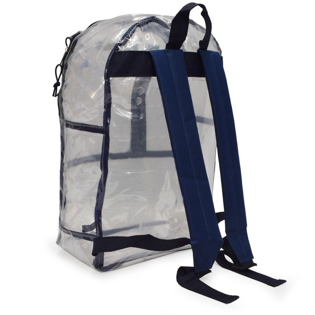 Prosport Multi Pocket Clear School Backpack