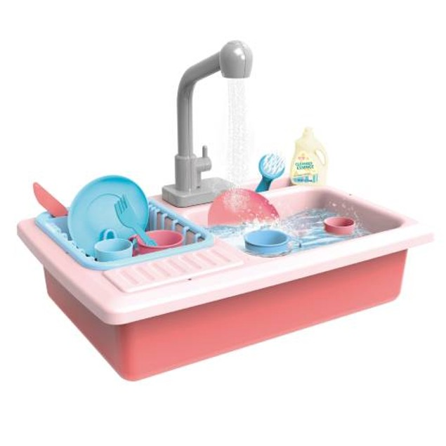 Toy Chef Color Changing Play Kitchen Sink Toys
