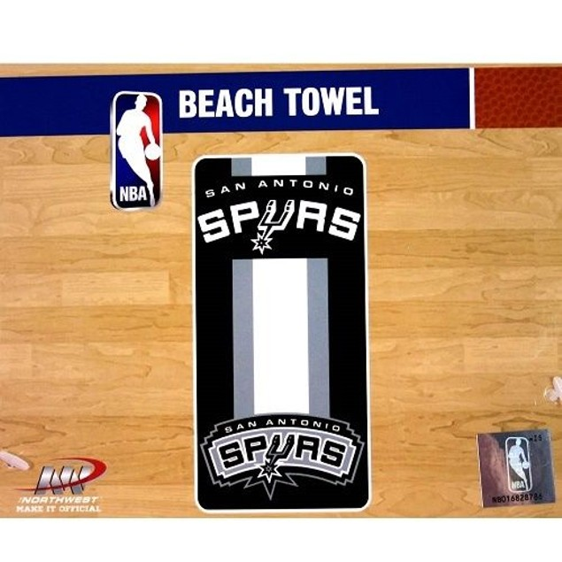 San Antonio Spurs NBA Northwest Beach Bath Towel