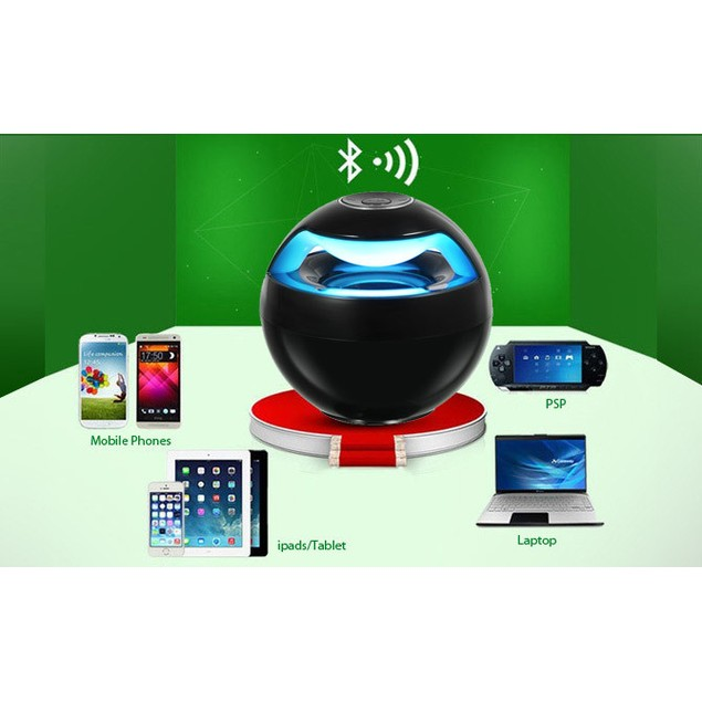 The Orb LED Bluetooth Speaker