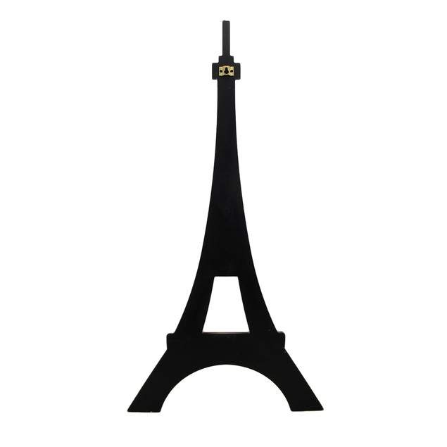 Eiffel Tower Shaped Decorative Wooden Wall Hook Key Hooks