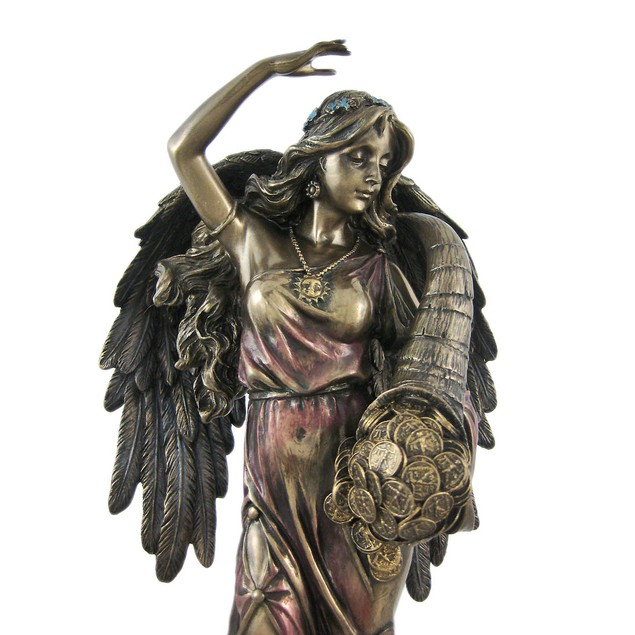 Bronze Fortuna Roman Goddess Of Fortune Statue Statues