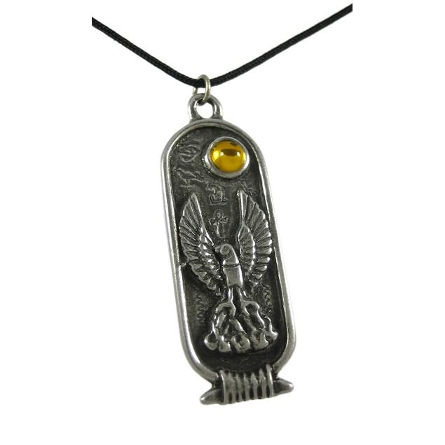 Egyptian Birth Sign Phoenix Pendant Necklace Mens Pendant Necklaces