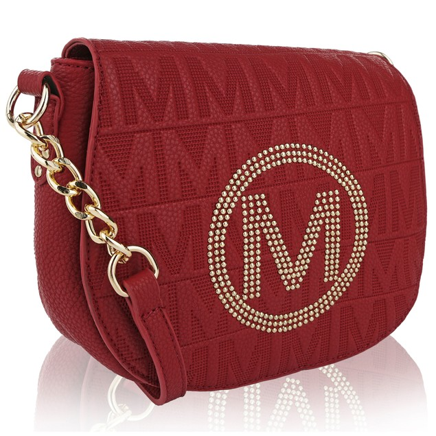 MKF Collection Verona M Signature Cross Body bag by Mia K Farrow