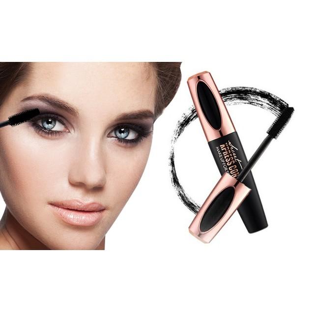 2-Pack 4D Voluminous Smudgeproof Silk Fiber Mascara