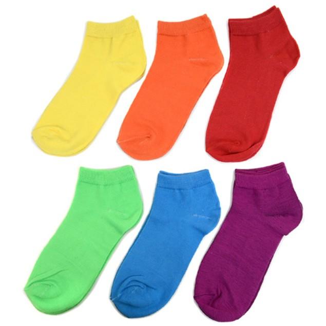 6-Pairs Women's Low Cut Socks