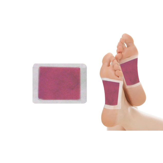 Detoxifying Scented Bamboo Foot Pads (10-Pack)