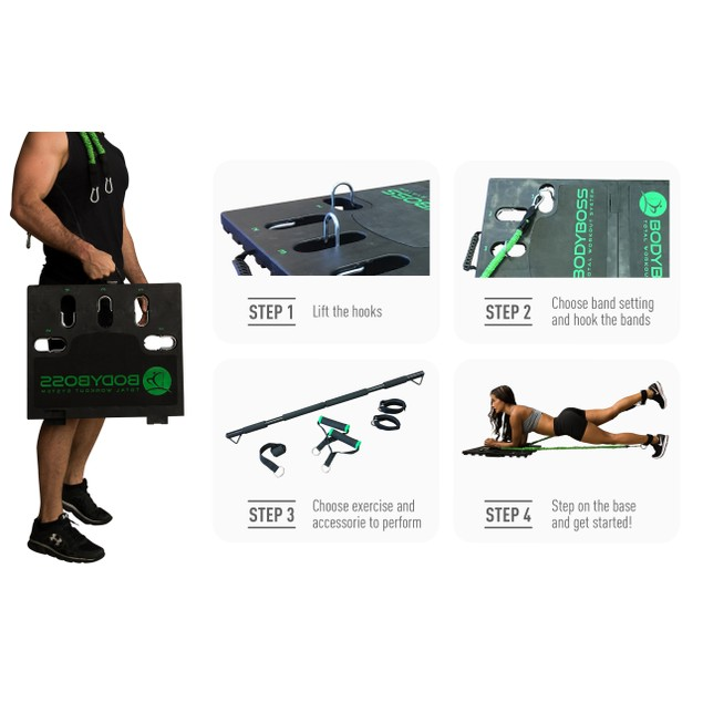 BodyBoss Portable Gym 2.0