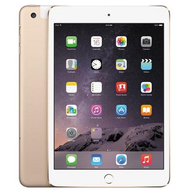 Apple iPad Mini 3 MH3G2LL/A Unlocked 4G (16GB, Wi-Fi + Cellular, Gold)