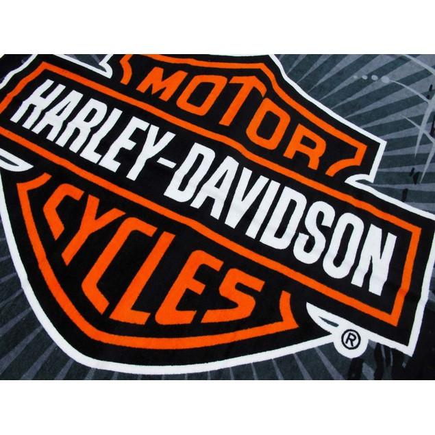 Harley-Davidson Vibe Velour Beach Towel 30 In. X Beach Towels