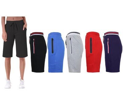 Women's Loose-Fit Tech-Fleece Bermuda Lounge Shorts - Plus Sizes Available Was: $49.90 Now: $12.99.