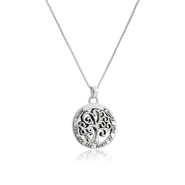 Mom's Tree of Life Necklace