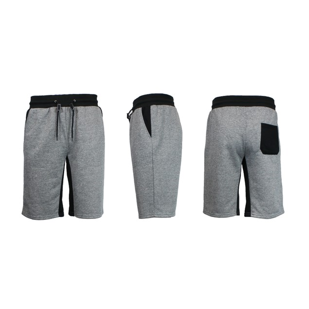 Men's Slim-Fit Marled French Terry Shorts