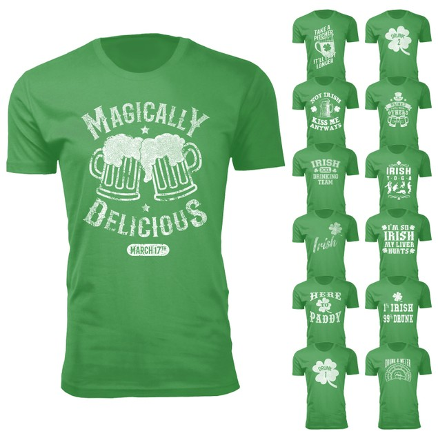 Men's and Womens St. Patrick's Day T-Shirts