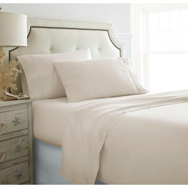 Merit Linens Ultra Soft 4 Piece Bed Sheet Set