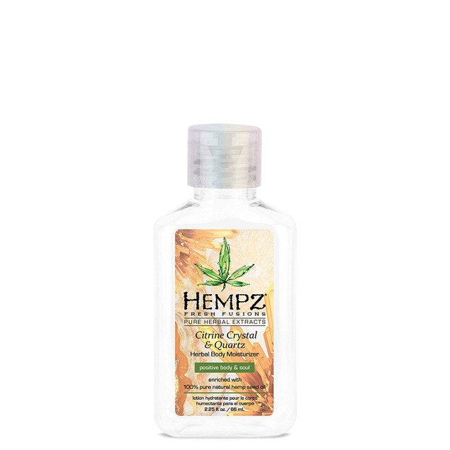 6 or 12-Pack Hempz Fresh Fusions Citrine Crystal & Herbal Body Moisturizer