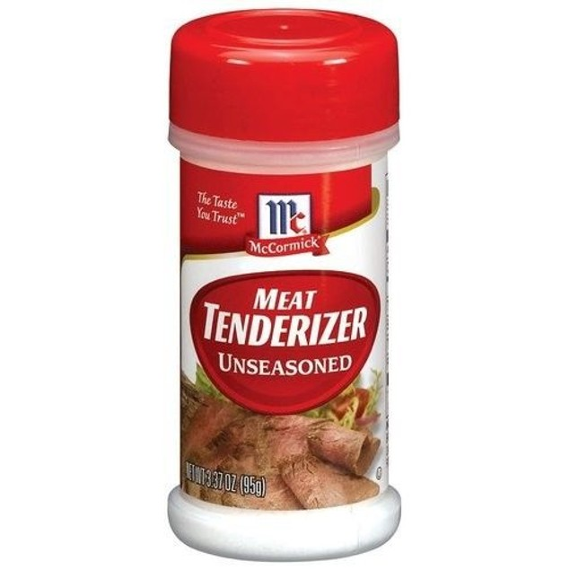 McCormick Meat Tenderizer Unseasoned 3.37 oz Bottle