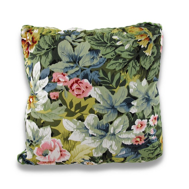 Charming Embroidered Decorative Square Throw Throw Pillows