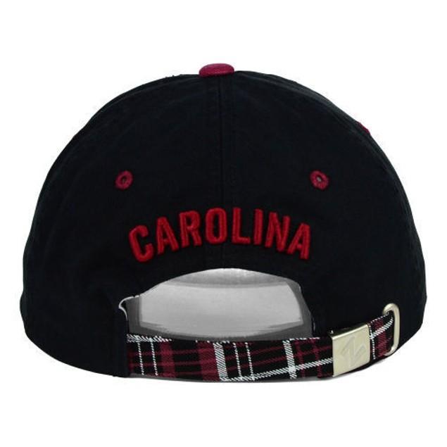 """South Carolina Gamecocks NCAA Zephyr """"Women's Washed Plaid"""" Adjustable Hat"""