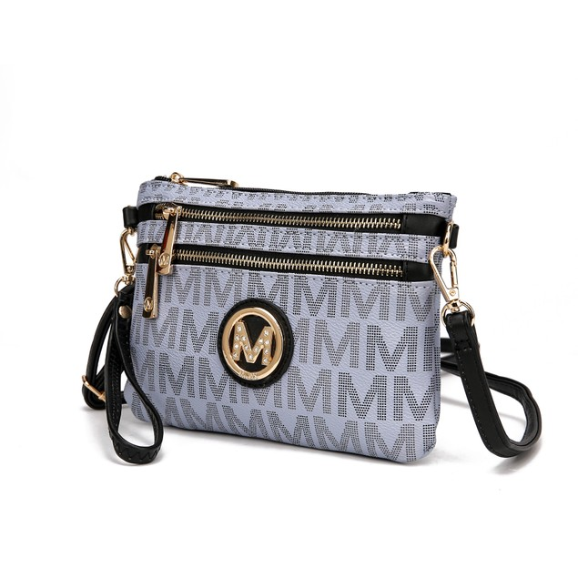 MKF Collection Helen Milan M Signature Crossbody Wristlet by Mia K.